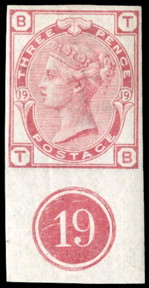 GB 1876  SG143var Pl.19 Mint