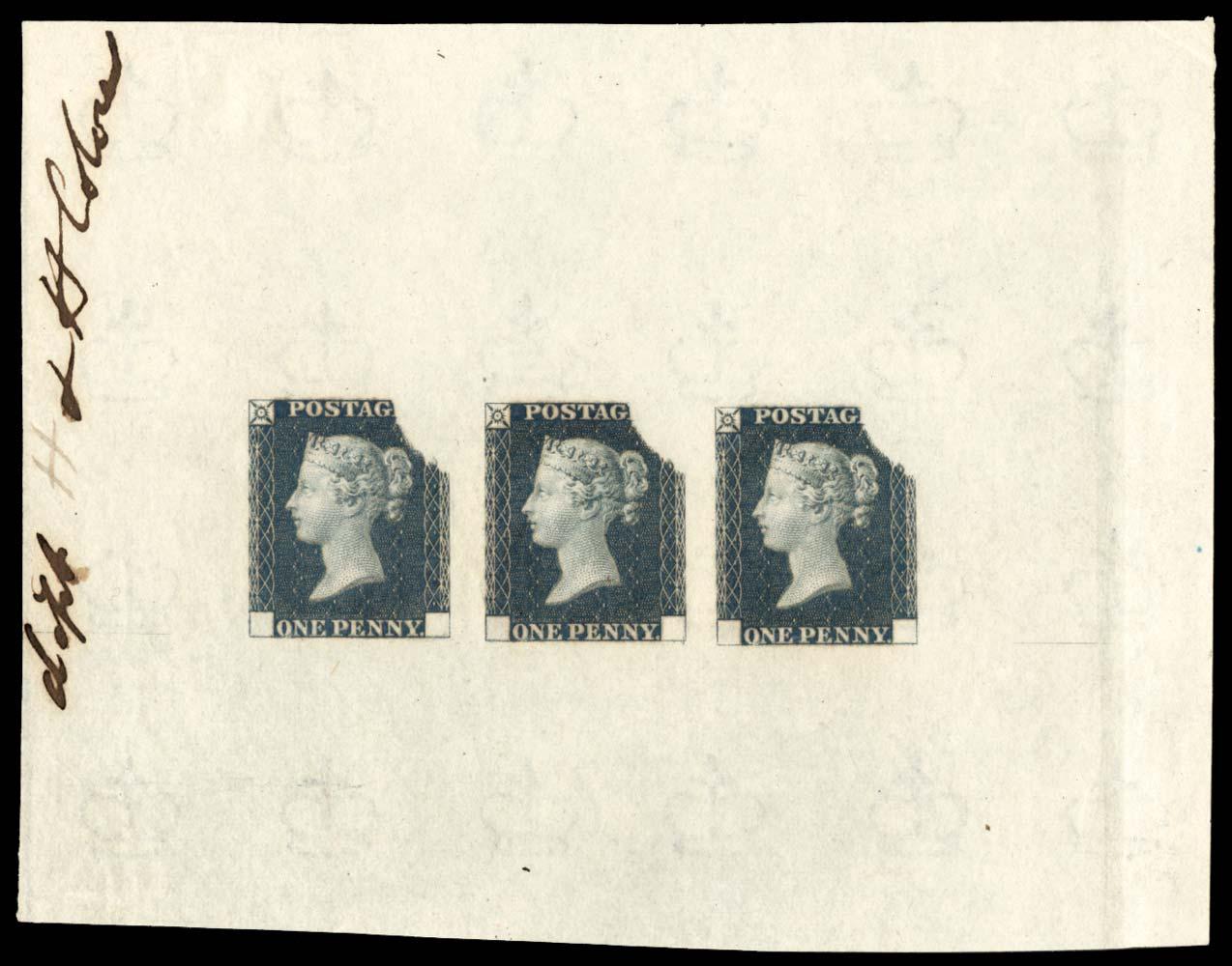 GB 1840  SGDP19a Mint