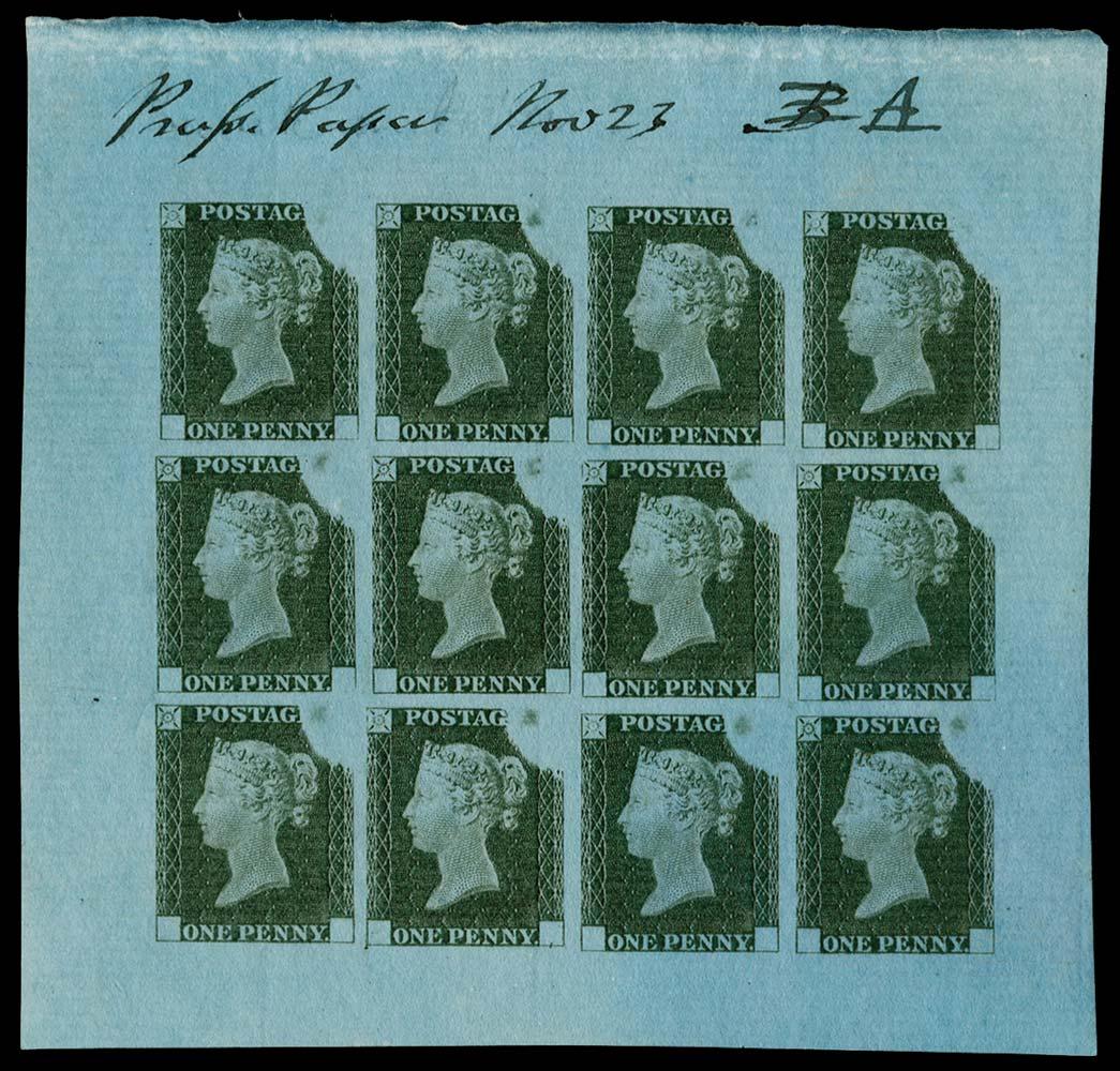 GB 1840  SGDP20(3)e Mint