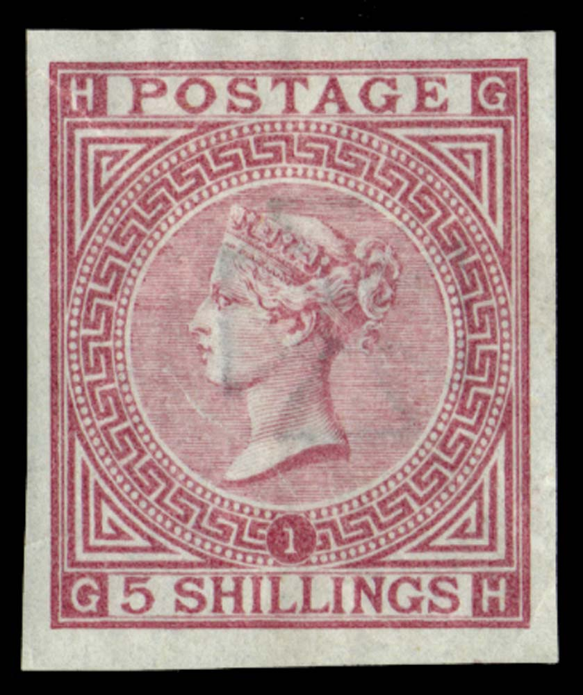 GB 1867  SG126var Pl.1 Mint