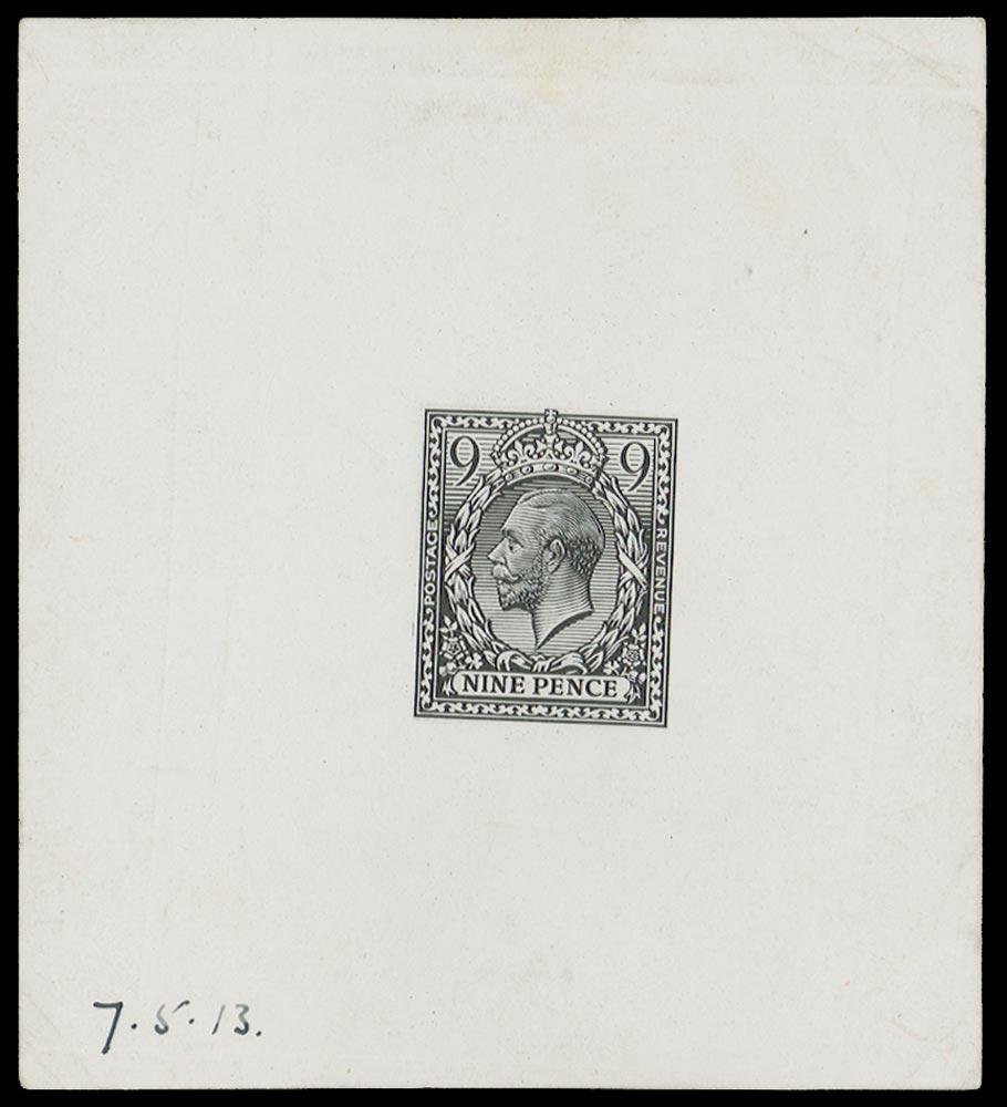 GB 1913  SG392var Proof