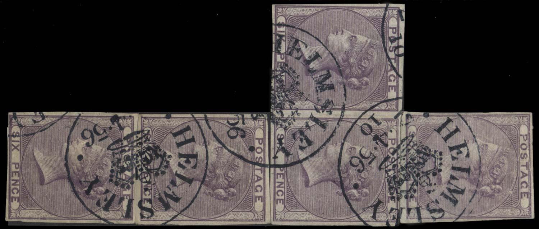 GB 1856  SG69var Proof