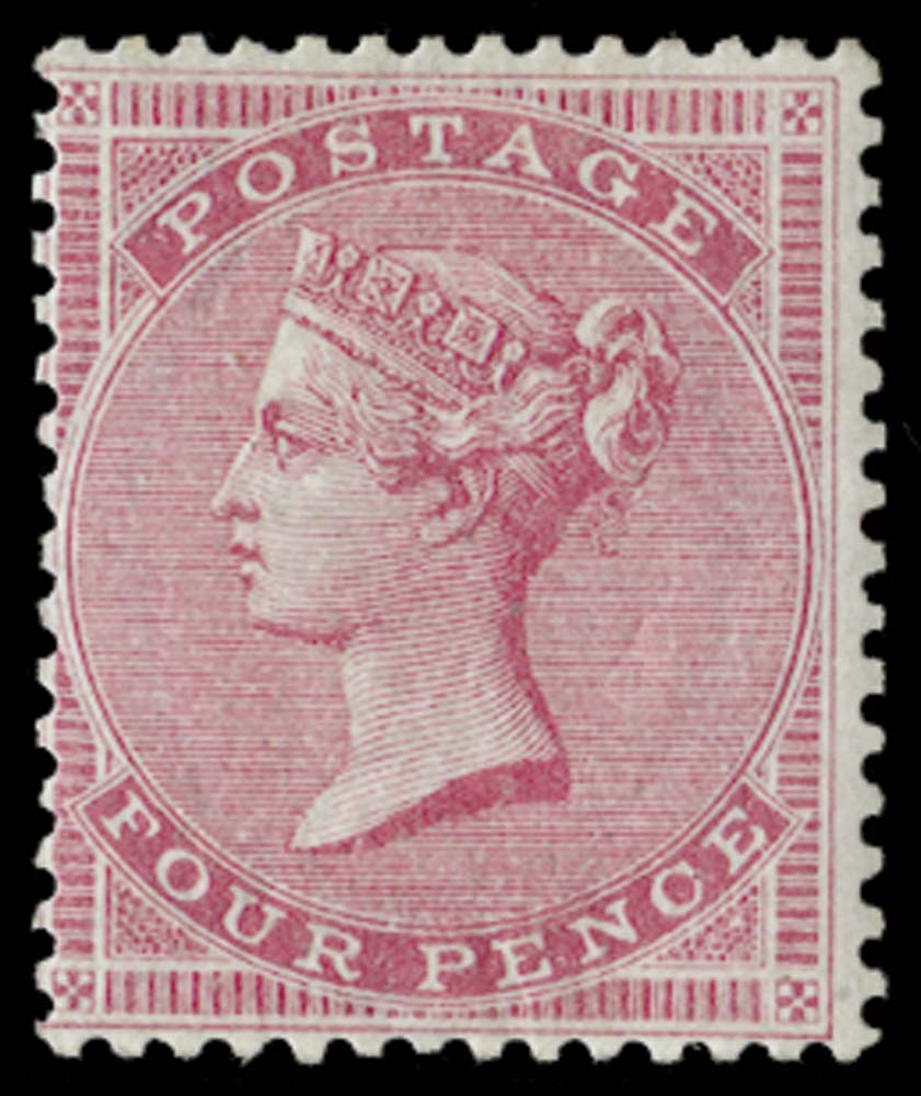 GB 1857  SG66b Mint