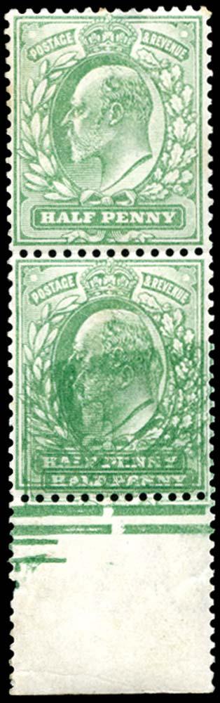 GB 1902  SG218b Mint