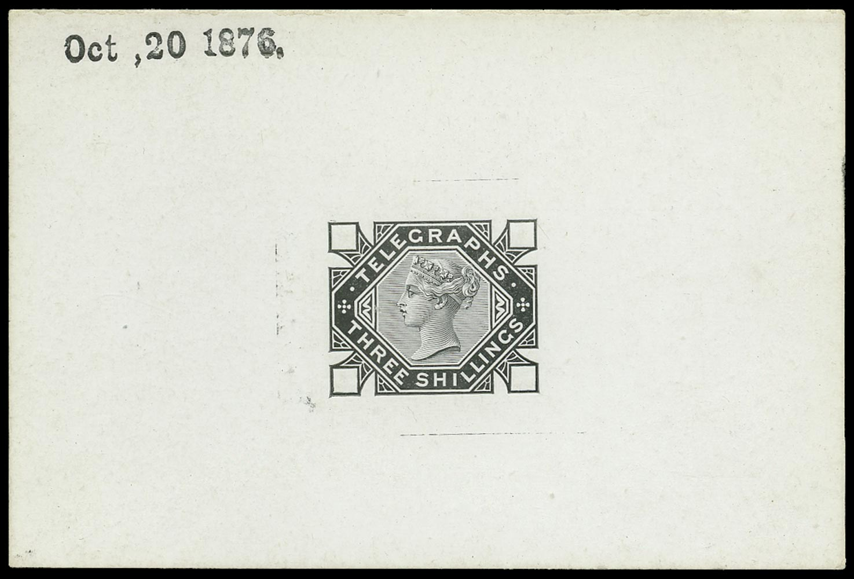 GB 1876  SGT11var Telegraph