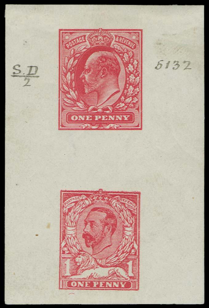 GB 1911  SG219var Colour Trial