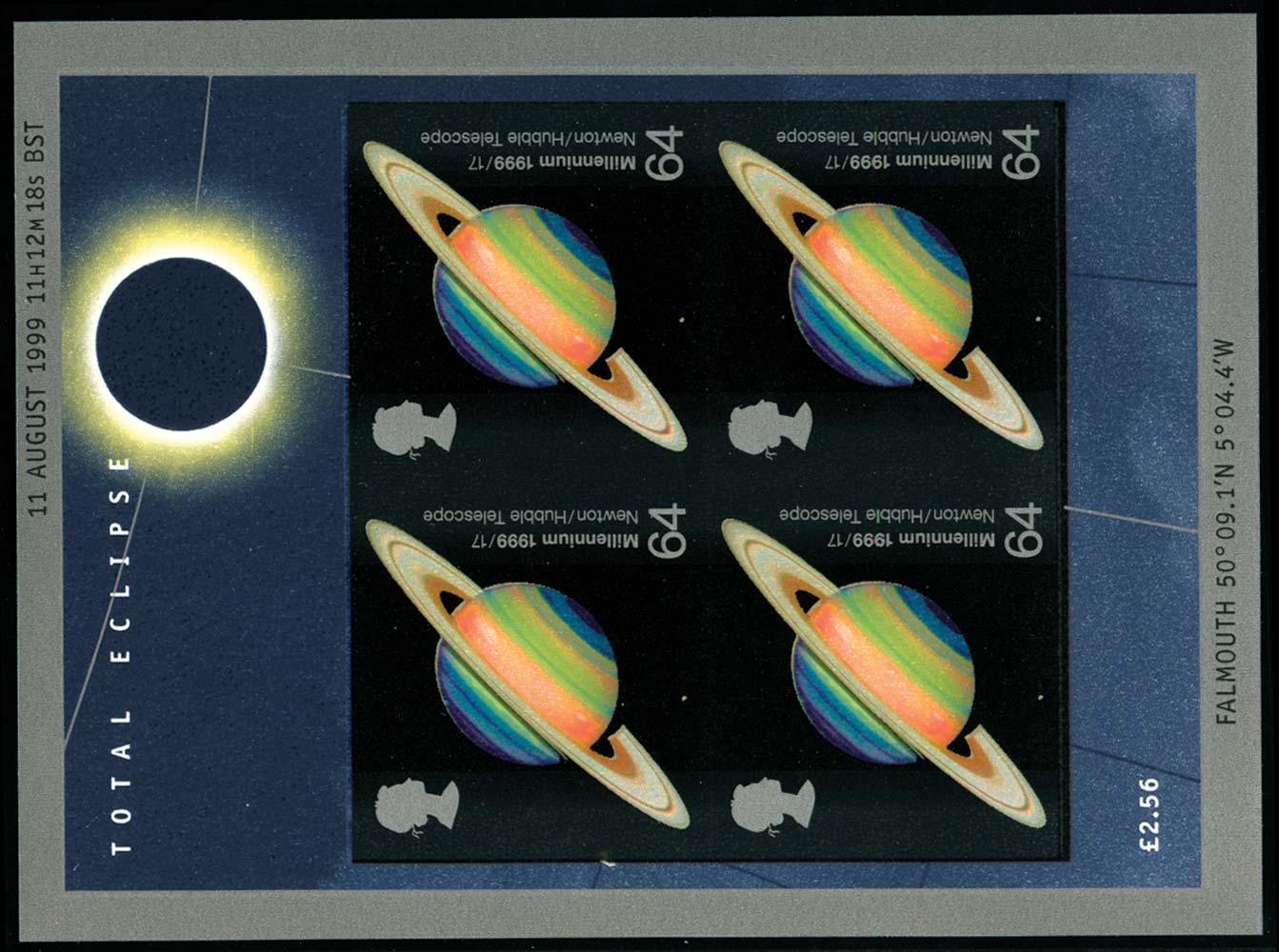 GB 1999  SGMS2106a Mint imperf sheet