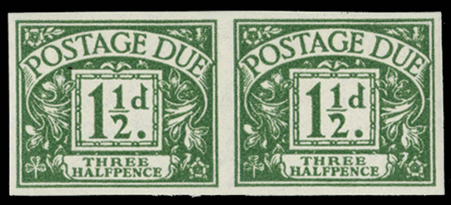GB 1955  SGD48var Postage Due