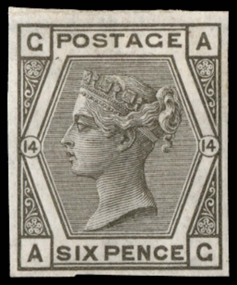 GB 1875  SG147var Mint
