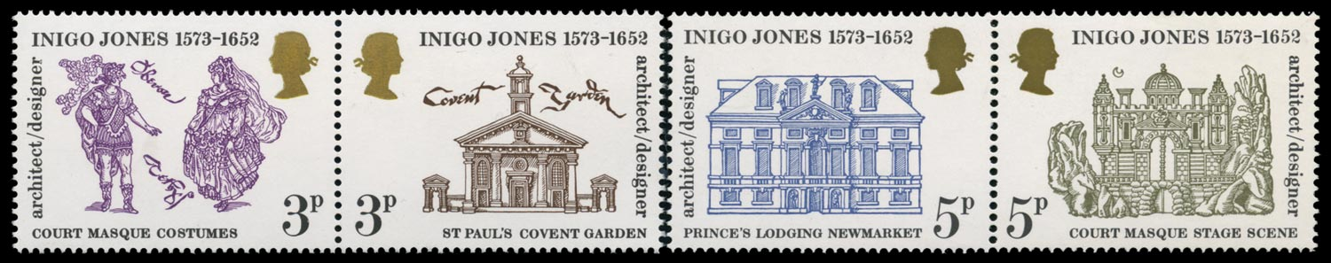 GB 1973  SG935/8var Mint with phosphor omitted.