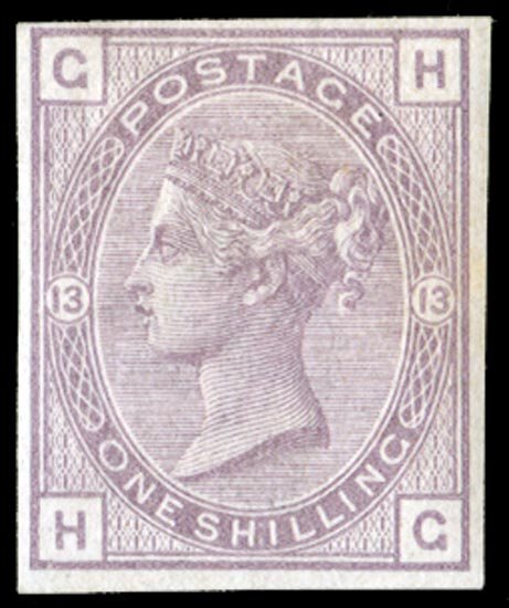 GB 1882  SG163var Pl.13 Mint