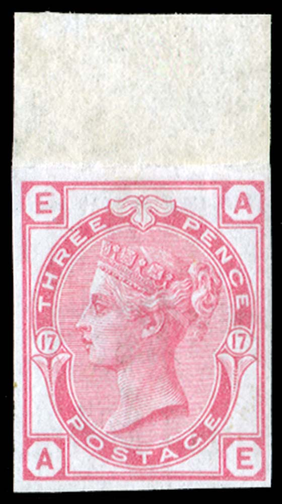 GB 1875  SG143var Pl.17 Mint