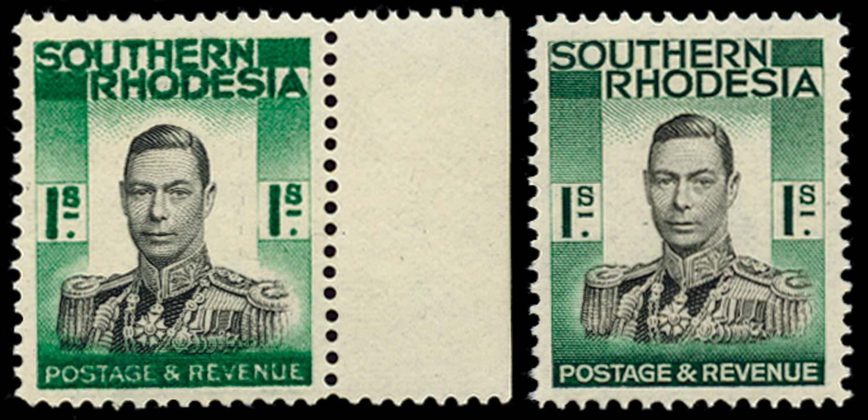 SOUTHERN RHODESIA 1937  SG48a Mint
