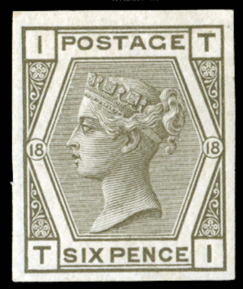GB 1880  SG147var Pl.18 Mint