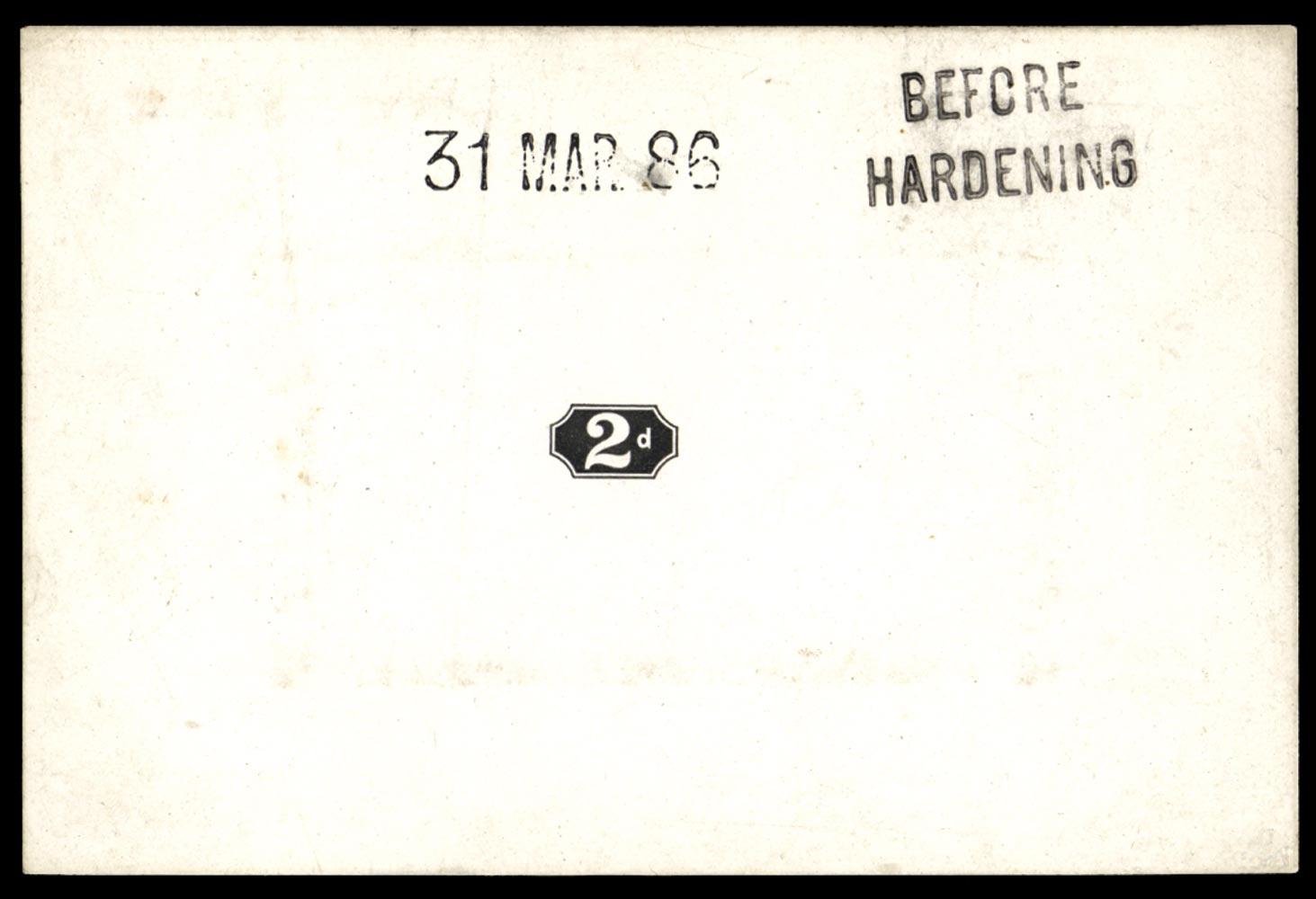 GB 1886  SG200var Proof