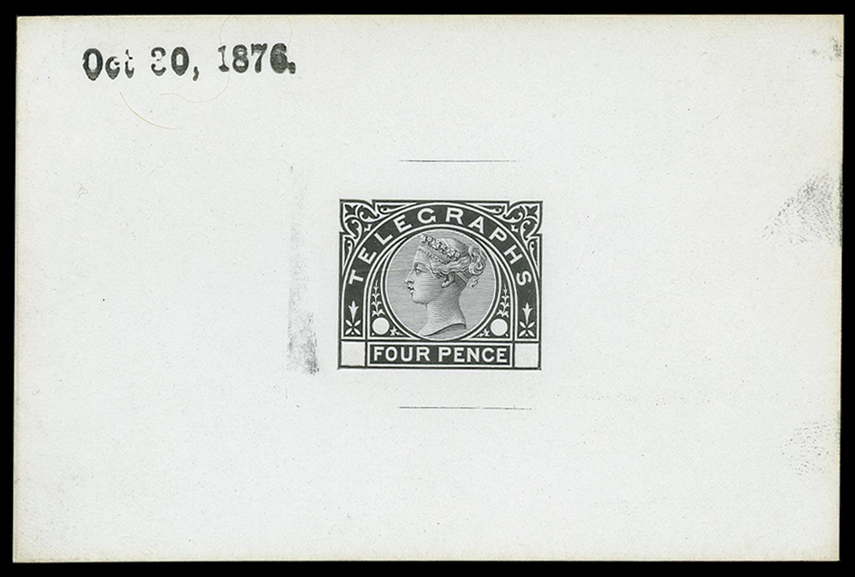 GB 1876  SGT5var Telegraph