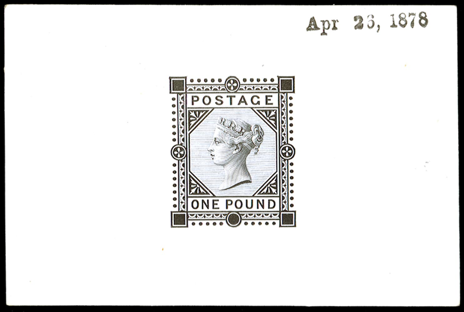 GB 1878  SG129var Proof