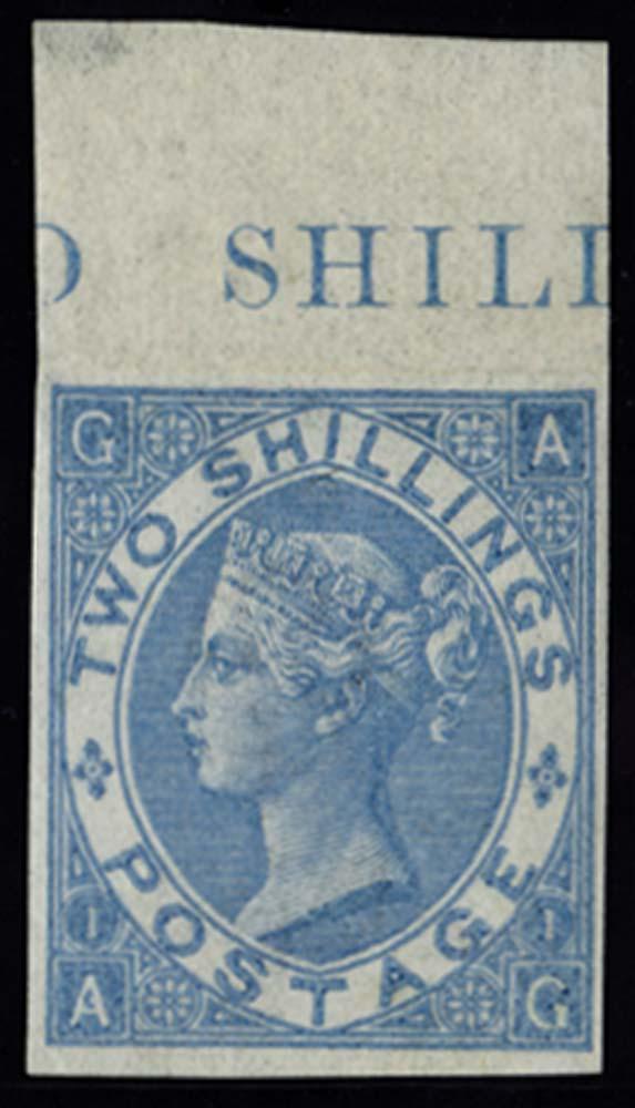 GB 1867  SG118var Pl.1 Mint