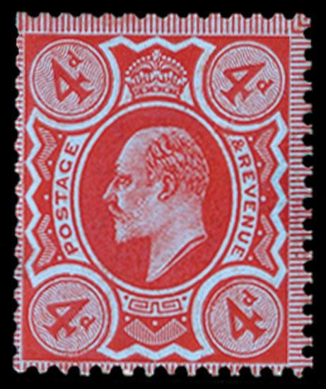 GB 1909  SG240var Mint