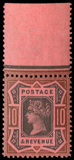 GB 1899  SG210var Mint