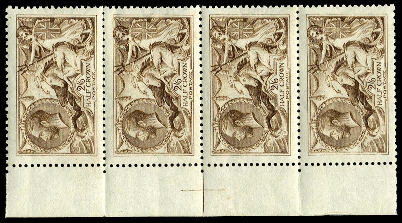 GB 1915  SG406wj Mint Wmk.
