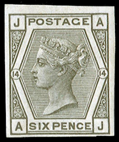 GB 1873  SG147var Pl.14 Mint