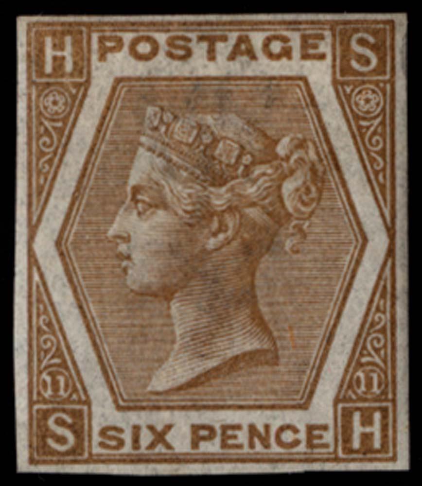 GB 1872  SG122var Pl.11 Mint