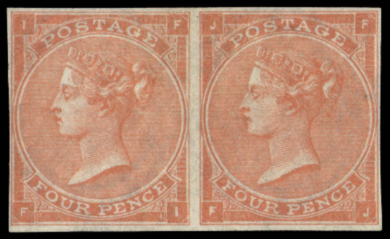 GB 1862  SG82a Pl.4 Mint