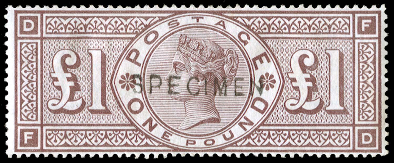 GB 1888  SG186s Specimen