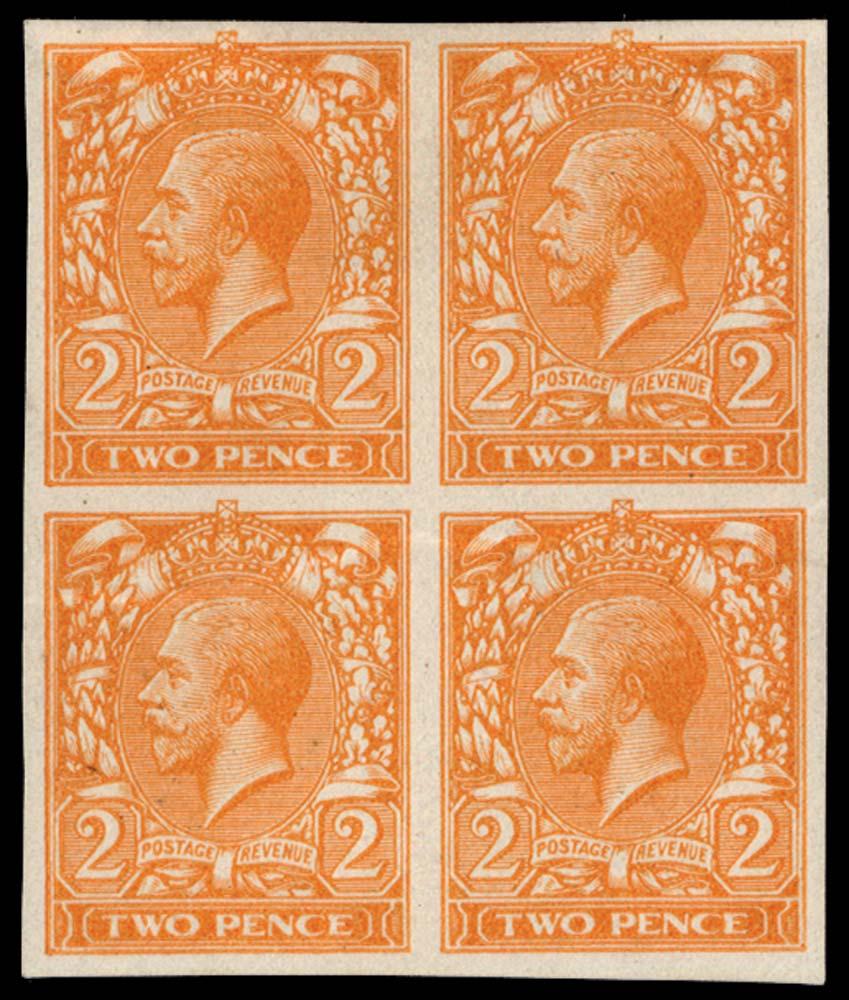 GB 1912  SG368var Mint