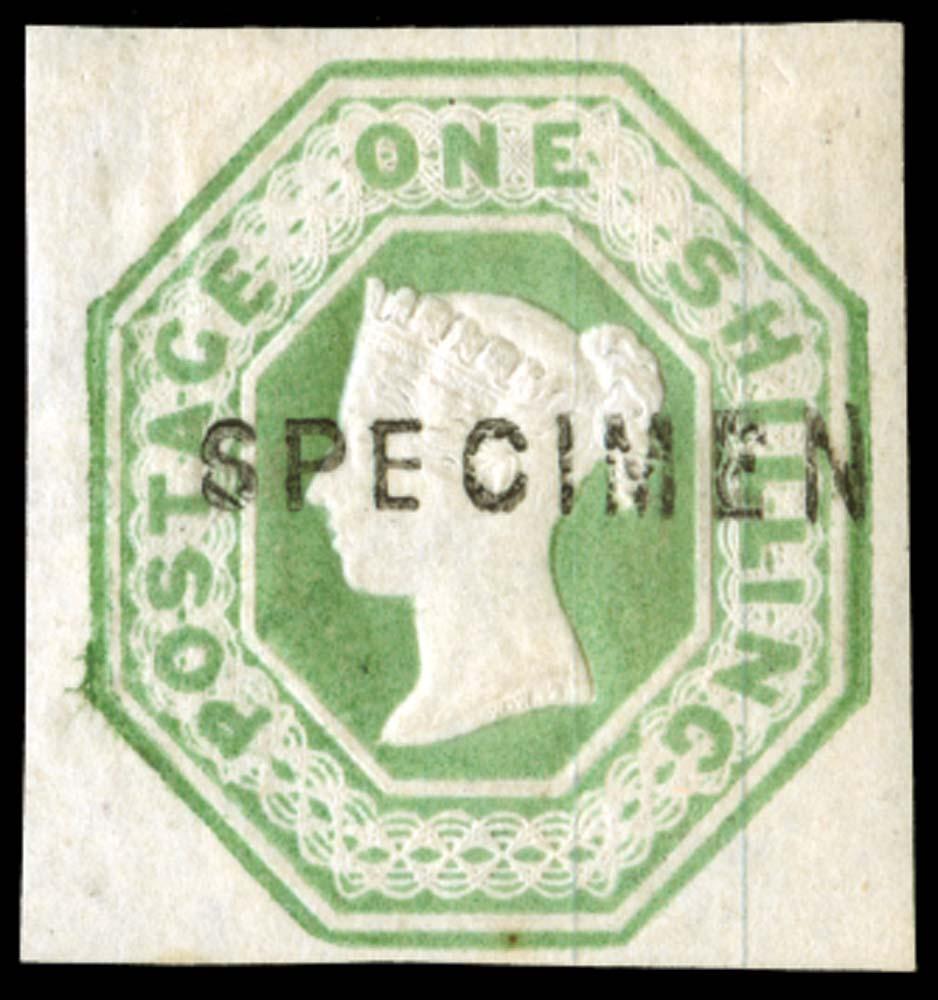 GB 1854  SG54var Specimen
