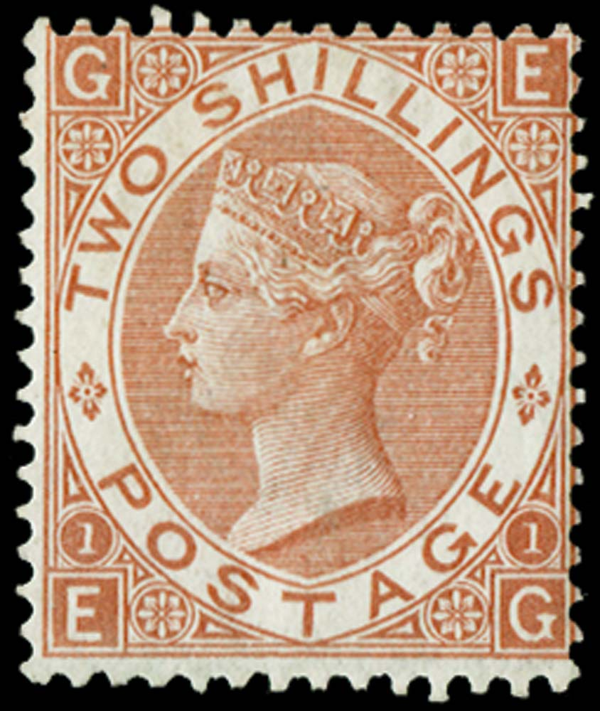 GB 1880  SG121 Pl.1 Mint