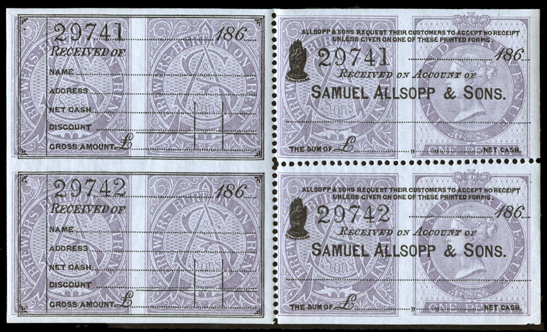 GB 1863  SGF9var Postal Fiscal