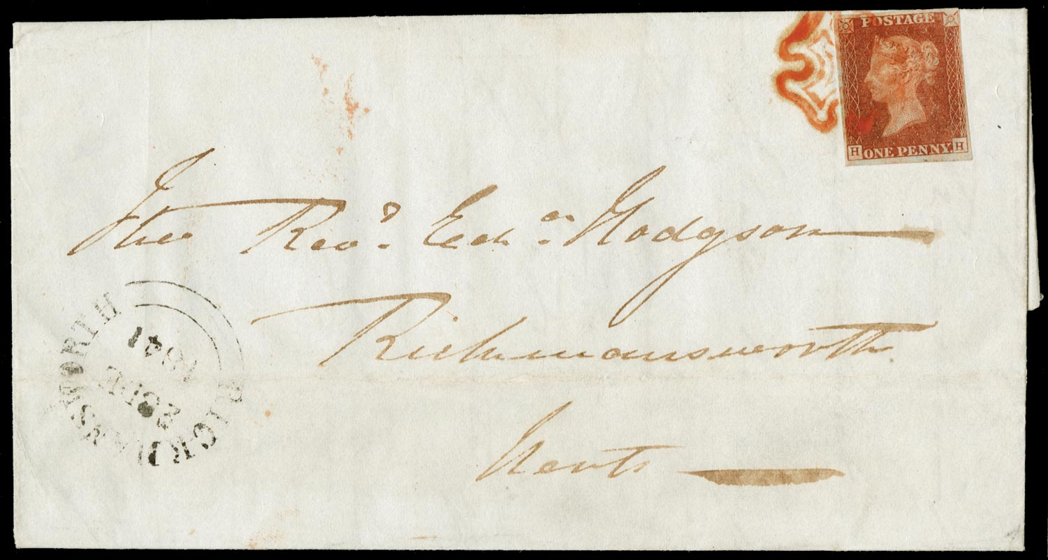 GB 1841  SG8 Pl.16 Cover