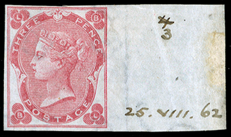 GB 1862  SG78var Pl.3 Mint
