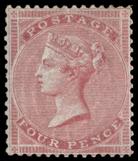 GB 1855  SG62a Mint