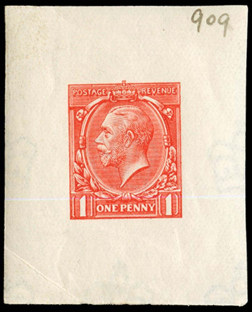 GB 1912  SG357var Proof