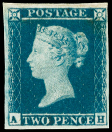 GB 1841  SG14var Pl.4 Mint