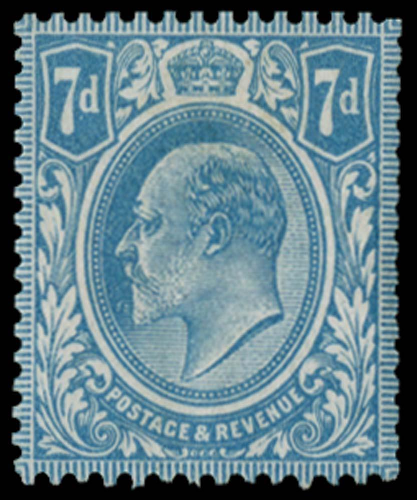 GB 1910  SG249var Mint