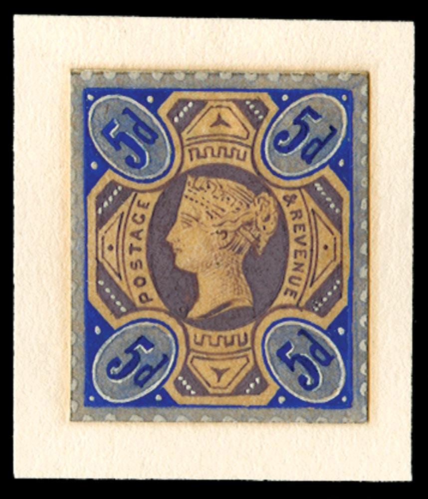 GB 1885  SG207var Mint