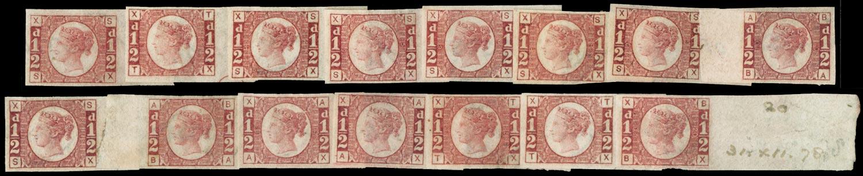GB 1870  SG48var Mint