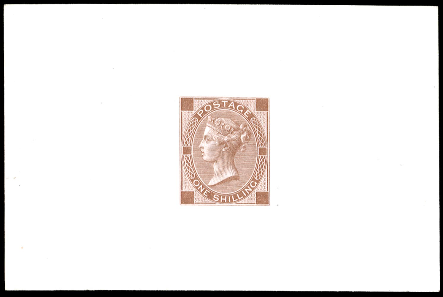 GB 1870  SG117var Die Proof