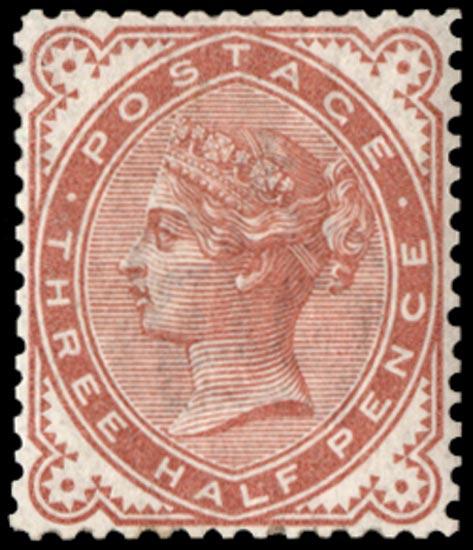 GB 1887  SG167var Mint