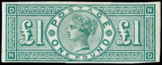 GB 1891  SG212var Mint