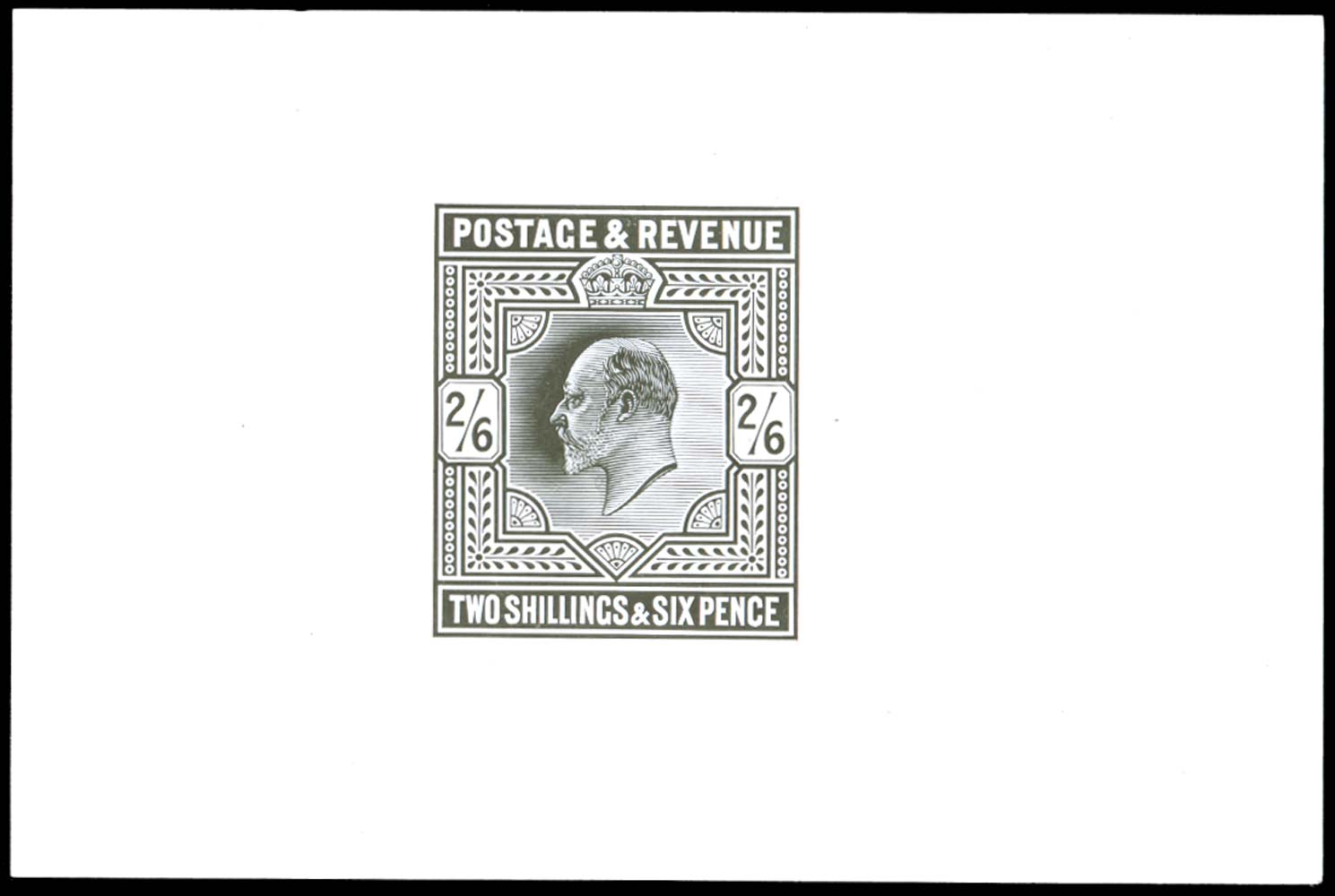 GB 1901  SG260var Mint