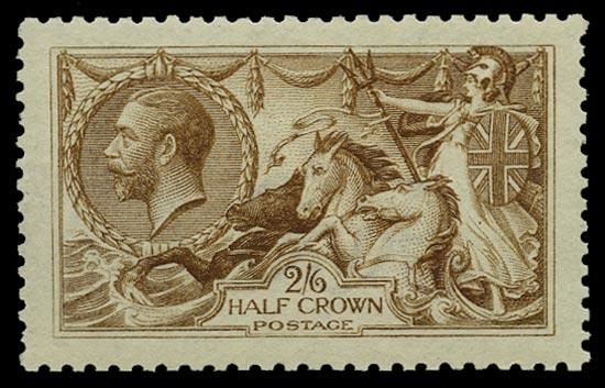GB 1915  SG406var Mint