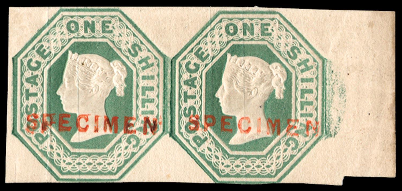 GB 1847  SG54s Specimen