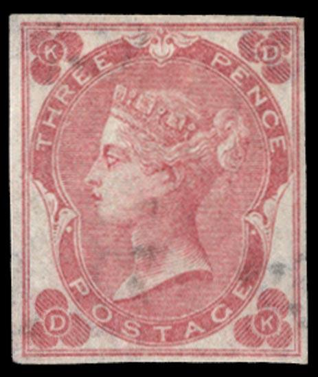 GB 1862  SG78a Pl.3 Mint
