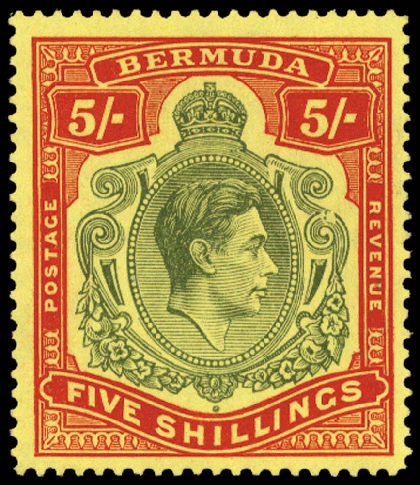 BERMUDA 1938  SG118be Mint