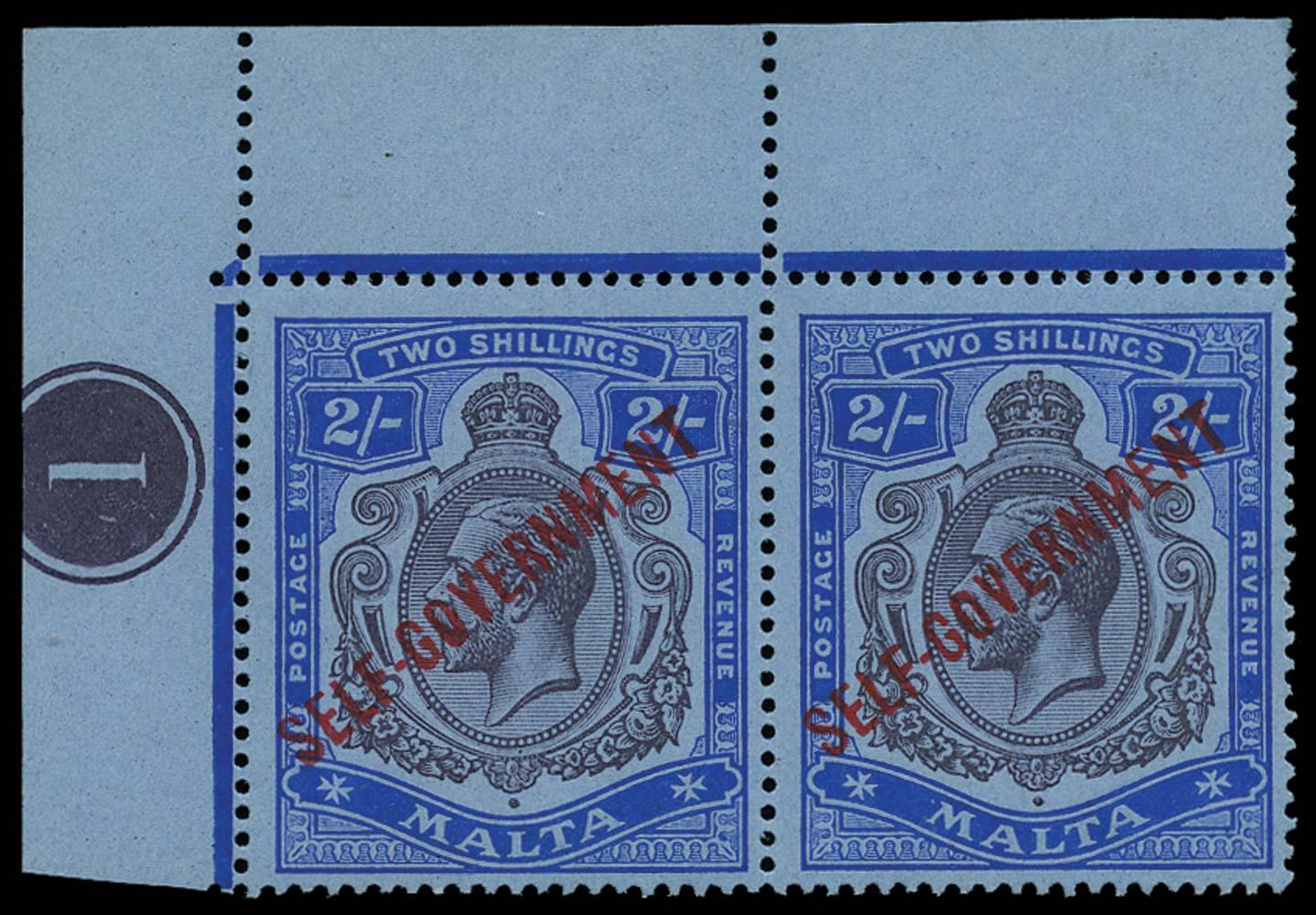 MALTA 1922  SG111 Mint